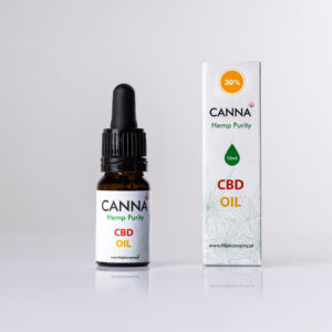 Olejek konopny CBD 30% 3000mg CBD 10ml Canna Hemp Purity