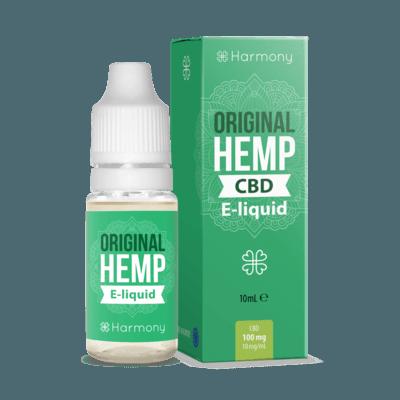 Liquid konopny do waporyzacji Harmony Original HEMP CBD 100mg, 10 ml