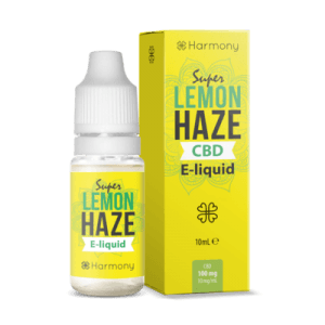 Liquid konopny do waporyzacji Harmony Super Lemon Haze CBD 100mg, 10 ml