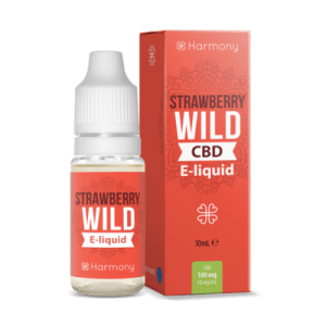 Liquid konopny do waporyzacji Harmony Wild Strawberry CBD 100mg, 10 ml
