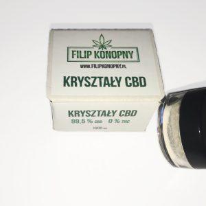 Kryształy CBD 99,5% 1000mg Filip Konopny