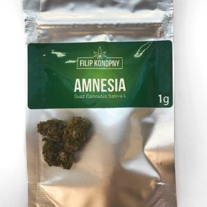 AMNESIA susz konopny PREMIUM – 1g CBD- 4,8%
