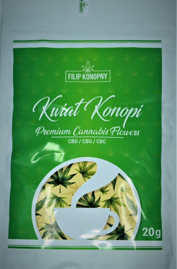 Kwiat Konopi CBD Premium Cannabis Flowers 20g FILIPKONOPNY