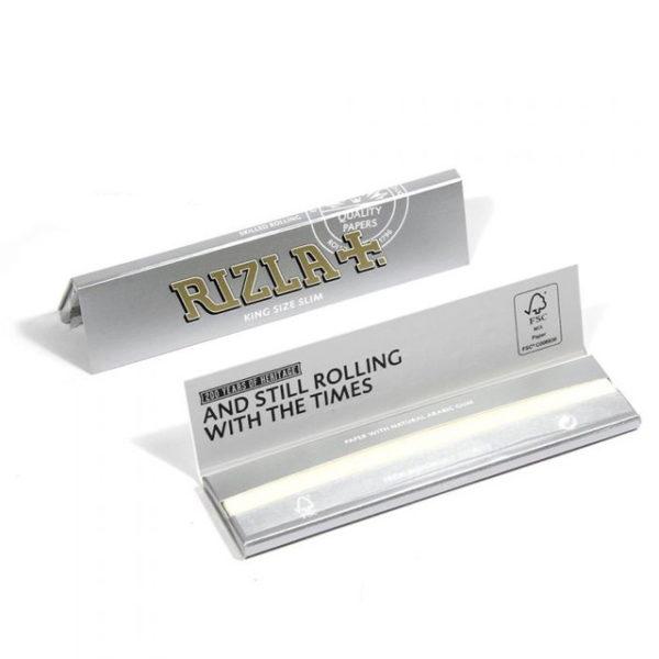 Bibułki Rizla+ Silver King Size Slim