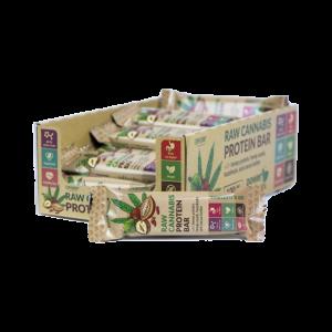 Baton proteinowy RAW CANNABIS Orzech laskowy 50g