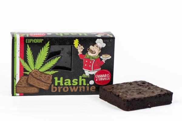 Brownie Cannabis & Tiramisu 50g