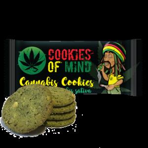 Ciasteczka Konopne Cookies of Mind 35g