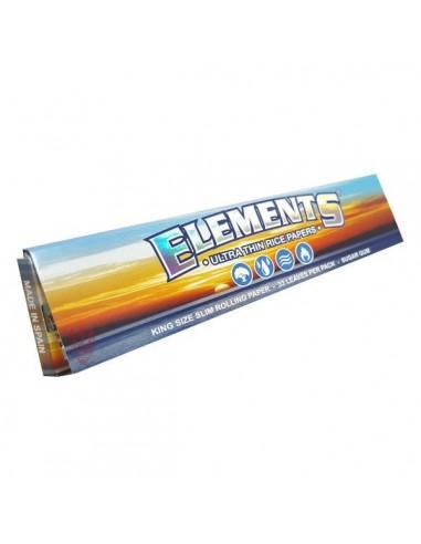 Bibułki Elements King Size Slim